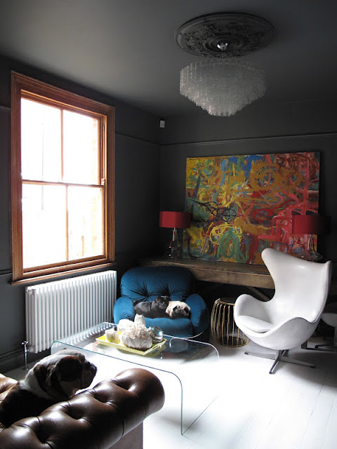 Baby Room Ceiling Light Colour in the Home with Farrow & Ball's Joa Studholme ...