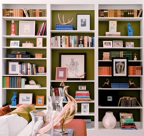 bookcase-inside-painted-green