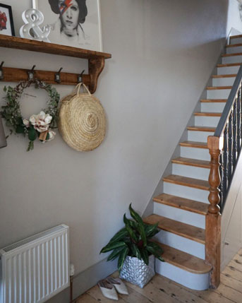 A modern transformation of a period staircase