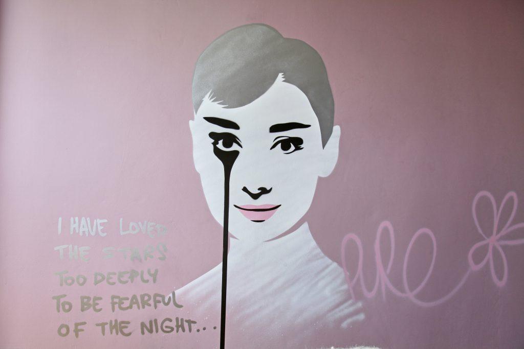 Audrey Hepburn by Pure Evil