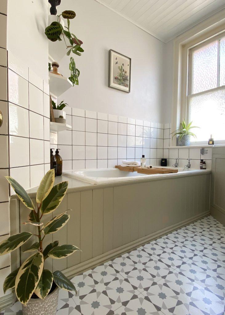 Budget bathroom makeover - after