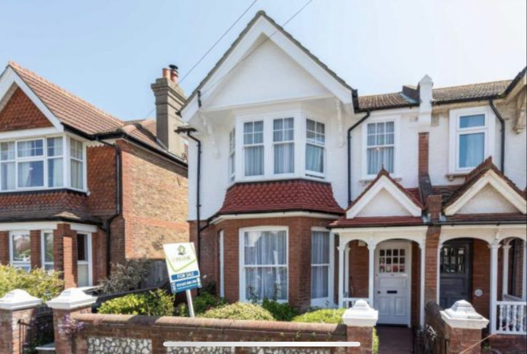 Our new house Edwardian semi in Hove in need of modernisation