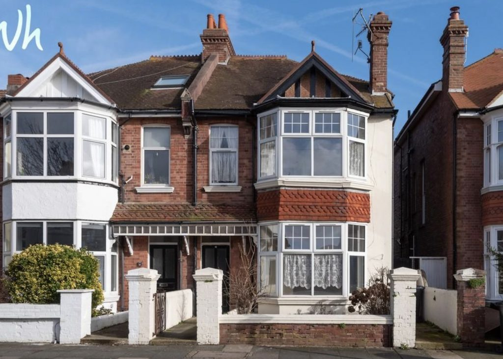Dilapidated Edwardian semi in Hove up for sale